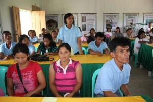 Pantawid beneficiaries during their study tour at Sta. Ana, Cagayan.