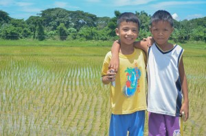 Cousins Jansen Ardaniel, 10, and JevinBulda, 11, were thrilled when they learned of the construction of a library in their school. Both still on Grade 5, they are among the first to experience a library first hand in Bulbulala Elementary School.